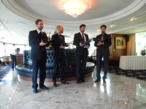 The Boy's Choir Quartet